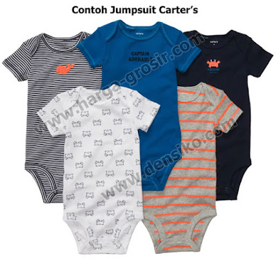 Jumper Carter's Jumpsuit harga murah, grosir ecer, baju kodok merk Carter jumpers, pakaian bayi newborn hingga 1 tahun