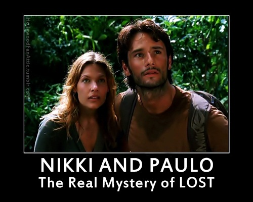 Nikki and Paulo LOST Meme