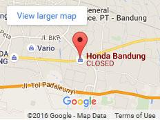 Alamat Dealer Honda Bandung