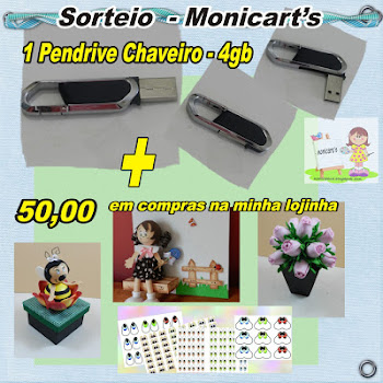 Sorteio Monica Arts
