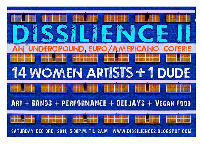DISSILIENCE 2 - 14 WOMEN ARTISTS AND ONE DUDE