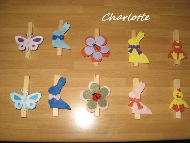 Gli Hobbies di Charlotte: Mollette chiudi sacchetti