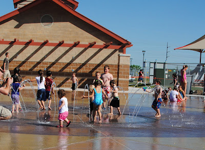 Foxboro Fox Hollow North Salt Lake Utah Splash Pad