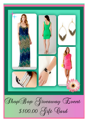ShopBop Giveaway Event – $100 Gift Card! {Ended}