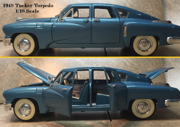 1948 Tucker Torpedo, 1:18th Scale ~