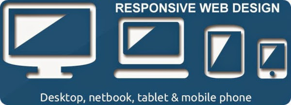 Using a responsive web design