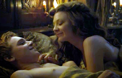 Margaery Tyrell in bed naked hot
