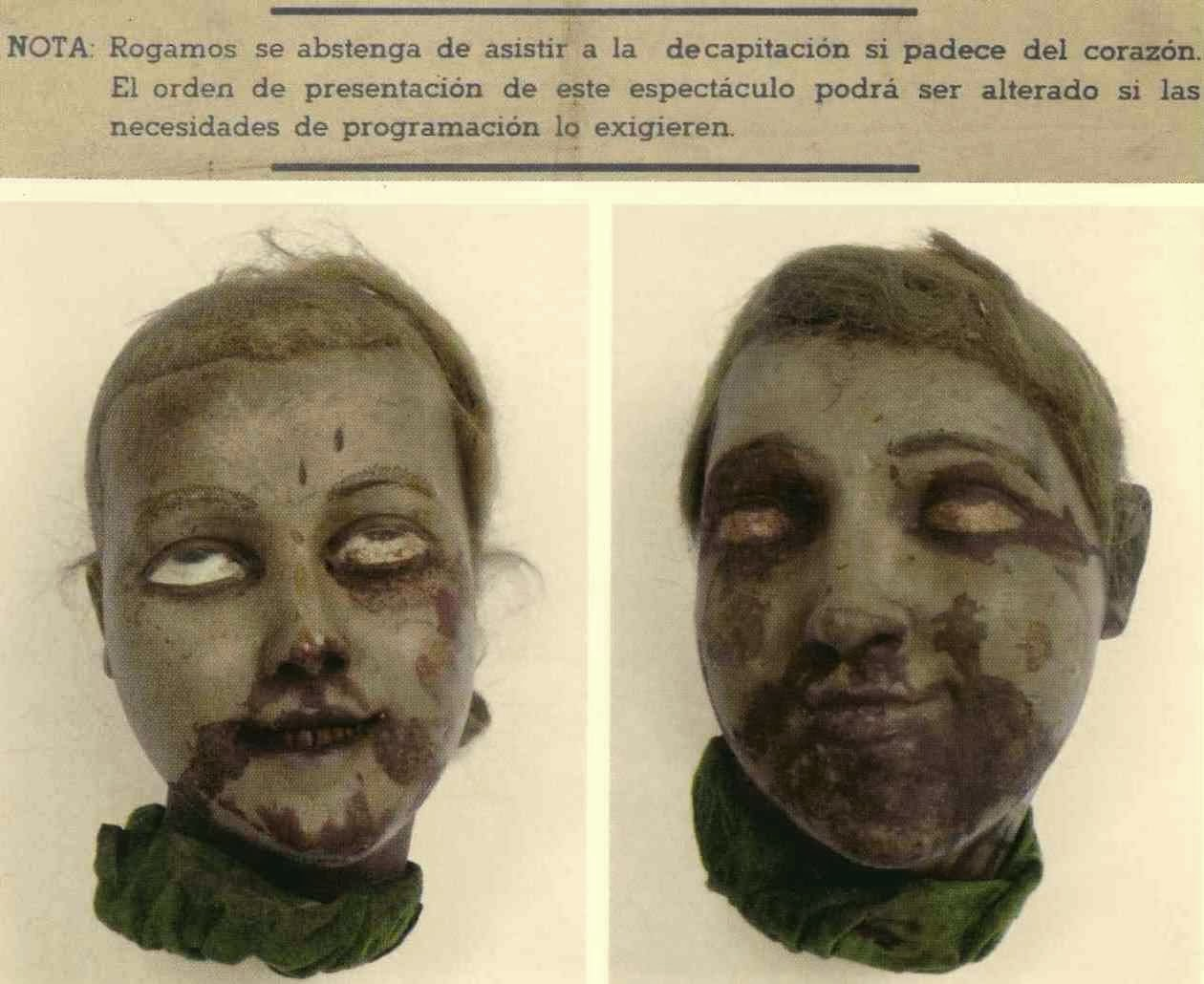 Morbid Anatomy: The Museo Roca, The Parade of Monsters, and Spanish ...