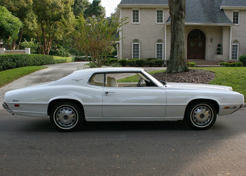 all american classic cars 1970 ford thunderbird 2 door. Black Bedroom Furniture Sets. Home Design Ideas