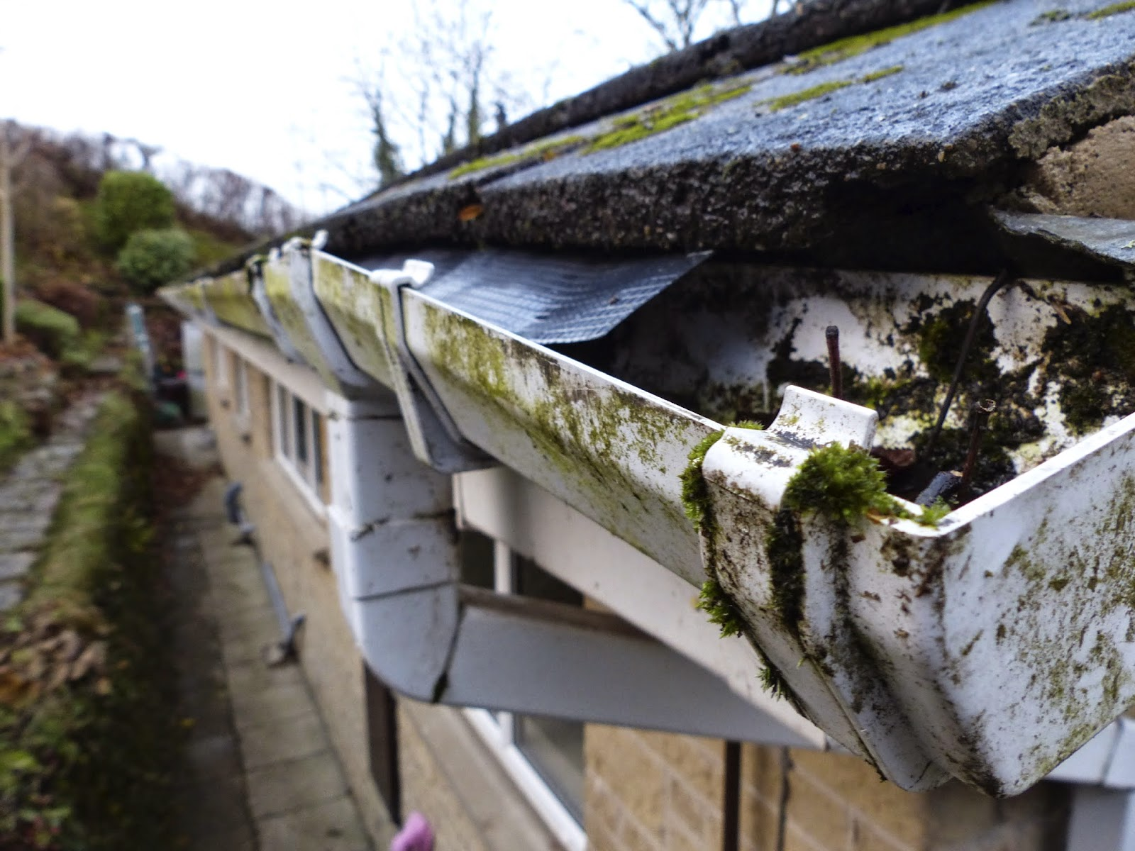 All Aluminum Gutters Three Types Of Gutter Damage To Look
