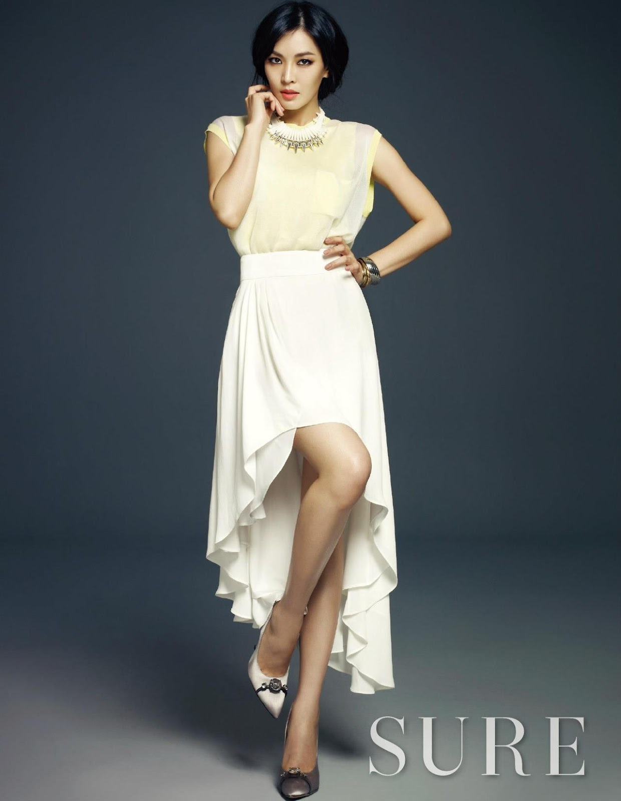 Kim So Yeon Sure April 2013