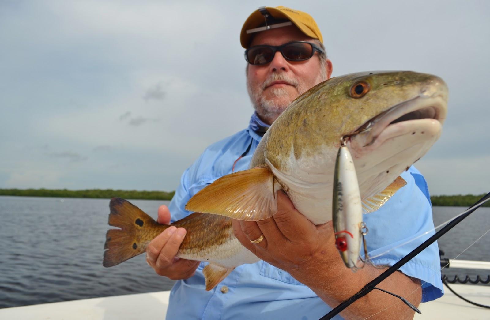 The pine island angler matlacha fishing report topwater slam for Secret fishing spots near me