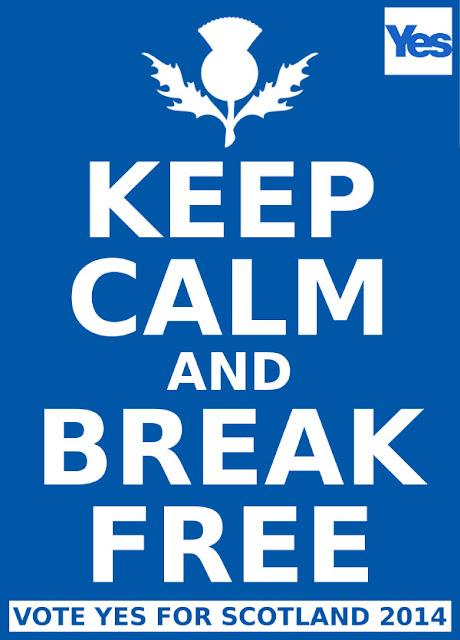 Keep Calm and Break Free