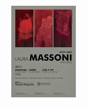 LAURA MASSONI - ESTOY AQUÍ - ISFA Manuel Belgrano - mayo 2011