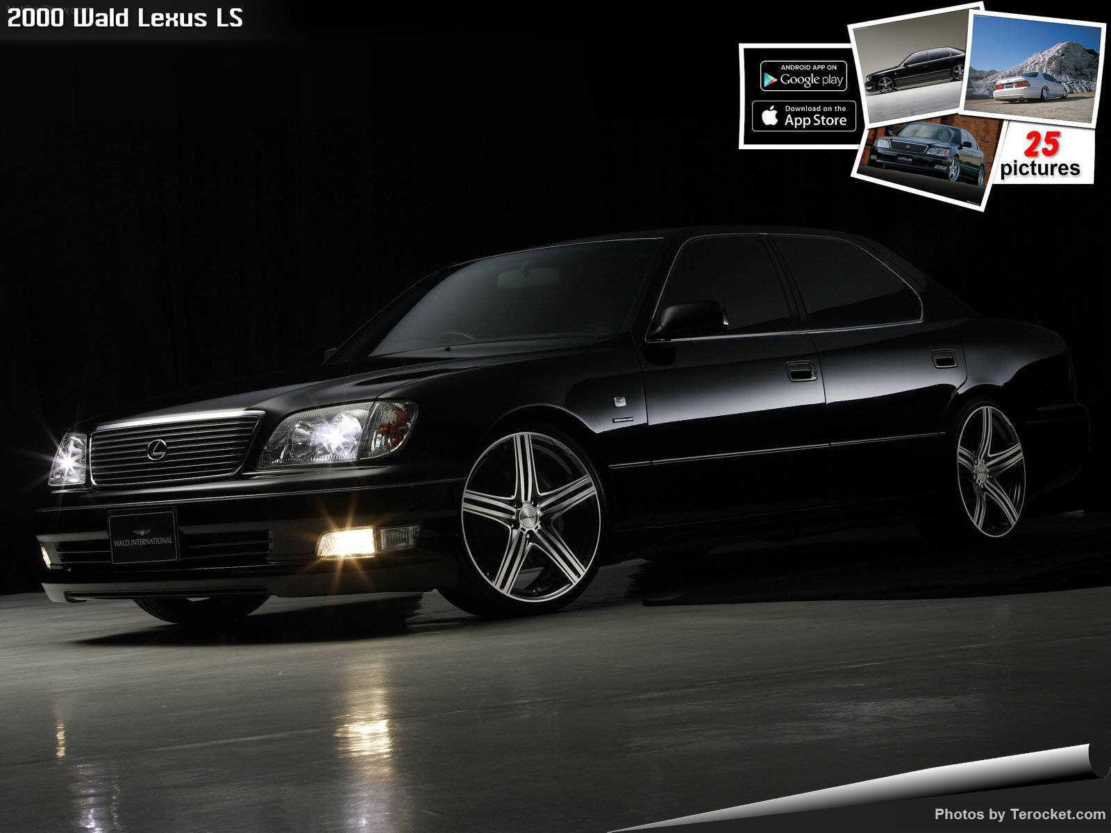 Hình ảnh xe độ Wald Lexus LS 2000 & nội ngoại thất