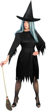 Large Spooky Witch Costume Women