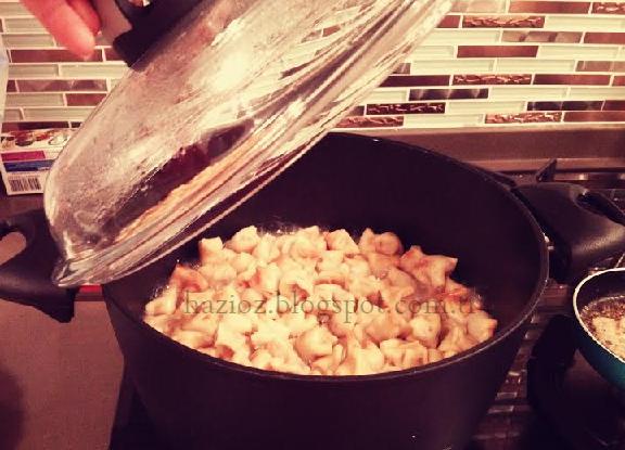 mantı pişirme hazioz