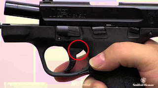 PROCEDURE FOR M&P SHIELD PISTOL.