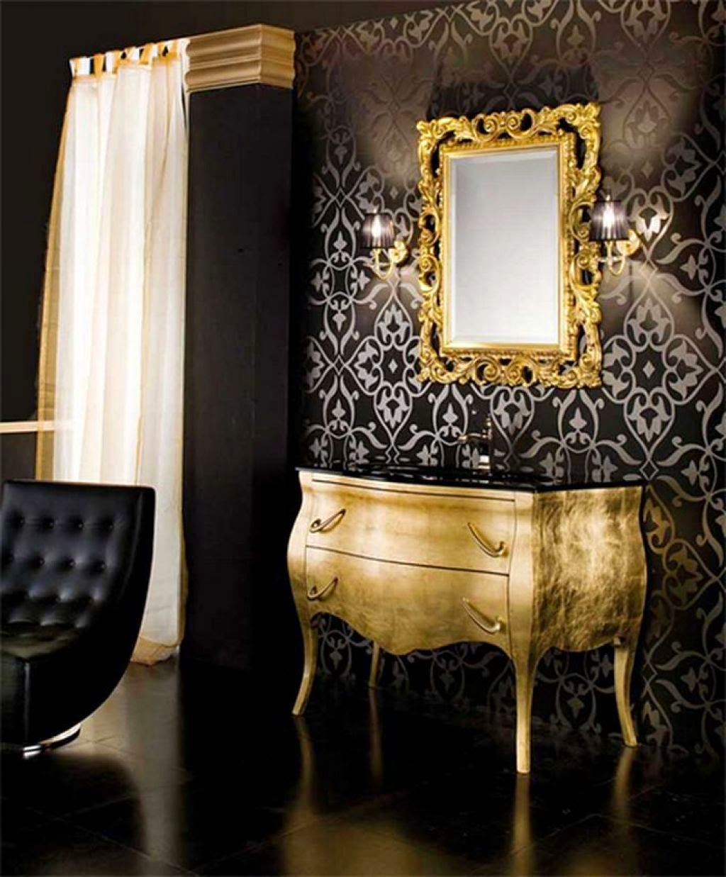 colour inspiration black gold be inspired
