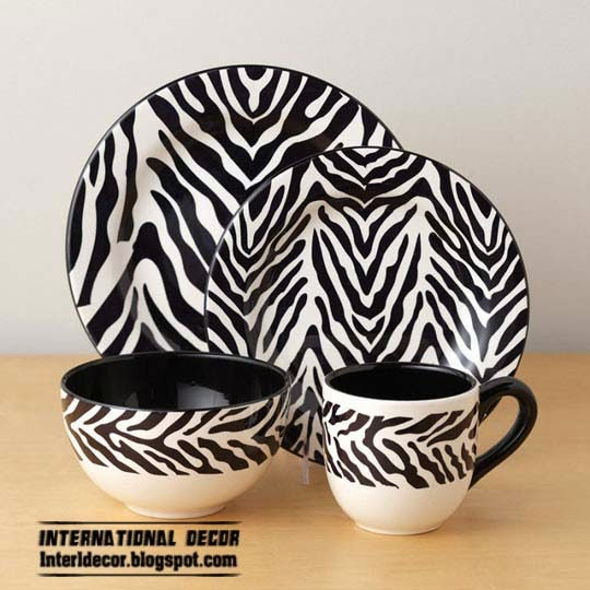 Zebra Print Kitchen Decor