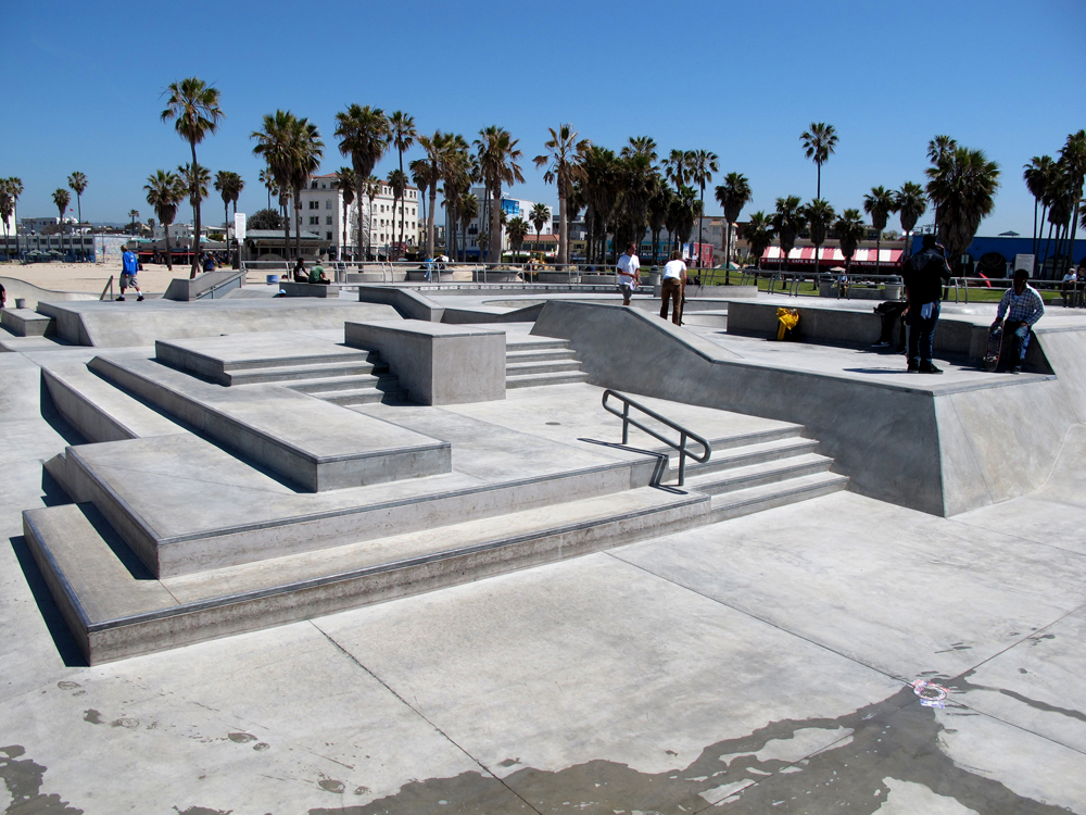 According to ClaudieUs: missing home - Venice Skate Park on the Beach