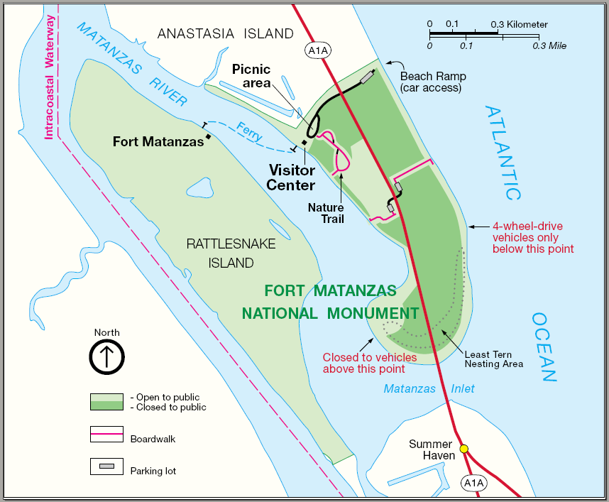 The junior ranger project update fort matanzas national for Matanzas inlet fishing
