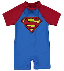 Superman baby swimsuit