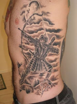 Tattoo de Samurai arqueiro