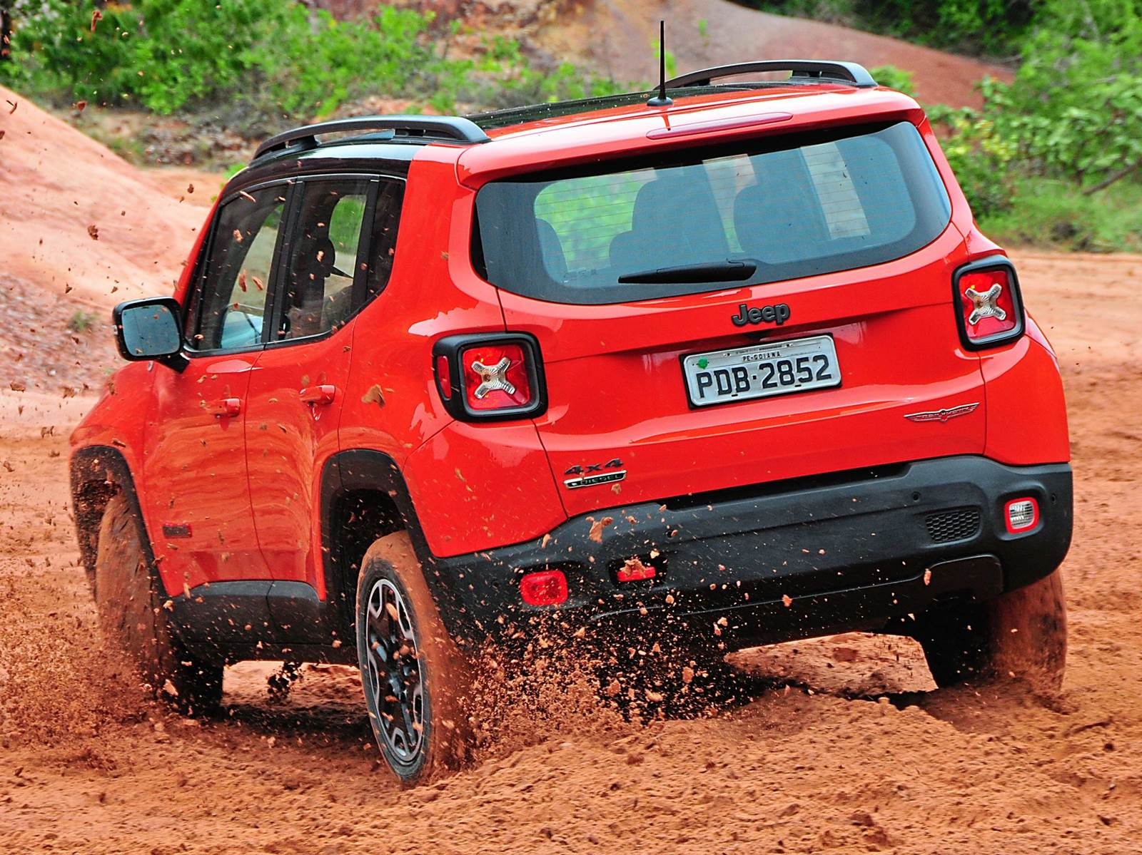 Jeep Renegade no Brasil - Trailhawk