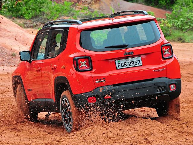 Jeep Renegade - 3º SUV mais vendido do Brasil