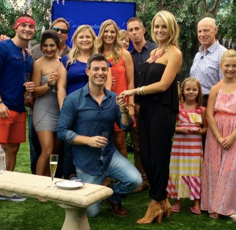 Big Brother Jeff and Jordan Engaged