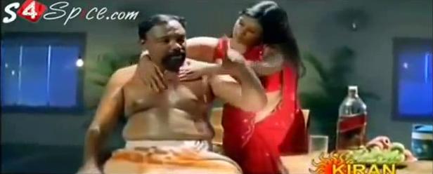 Mallu Aunty Hot B Grade Movie Scene Images