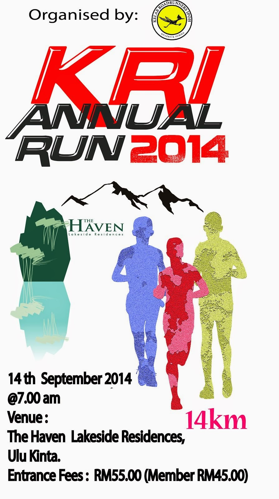 KRI ANNUAL RUN 2014 (ONLINE REGISTRATION)