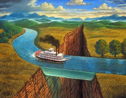 23-Water-Way-Marcin-Kołpanowicz-Paintings-of-Creative-Surreal-Worlds-ready-to-Explore-www-designstack-co