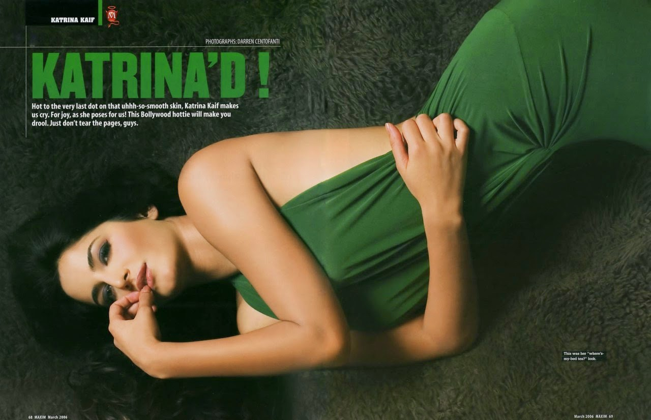 Katrina Kaif in Maxim Magazine 2006 Photoshoot 5