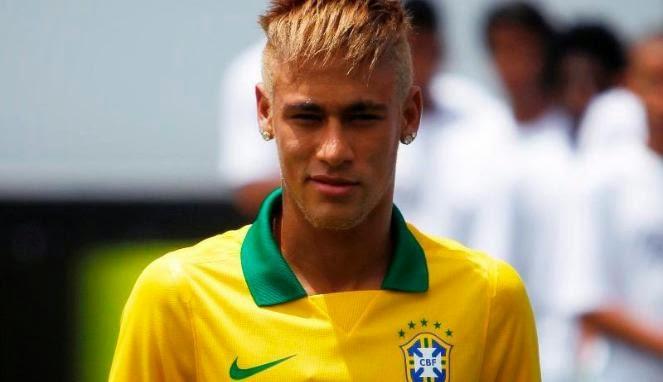 Foto Model Rambut Neymar 2014