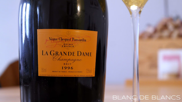 Veuve Cliquot Ponsardin La Grande Dame 1996 - www.blancdeblancs.fi