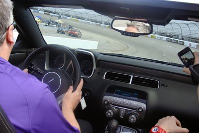 Pace Car Ride at RIR (#nascar)