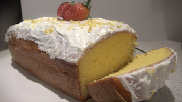 Lemon Olive Oil Pound Cake: Better Without Butter?