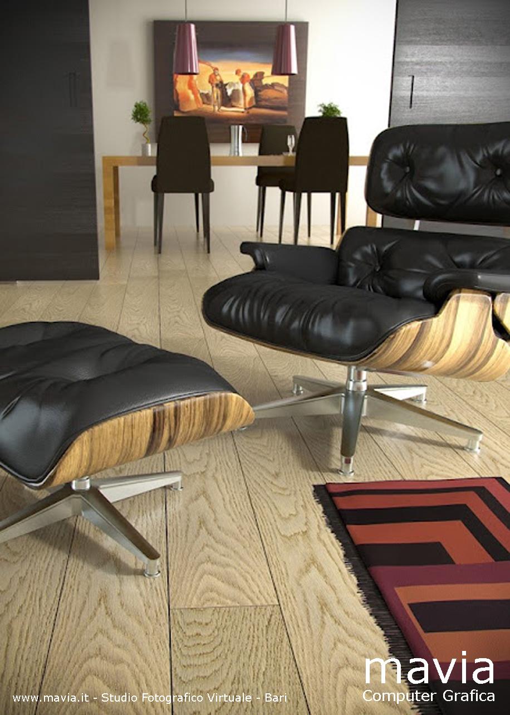 Arredamento di interni rendering interni 3d pavimento - Arredamento sala da pranzo moderna ...