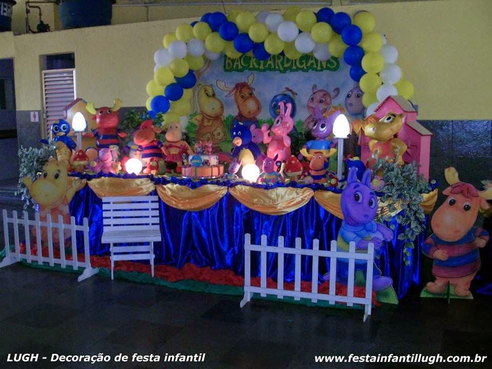 tema Backyardigans para decoração de festa infantil