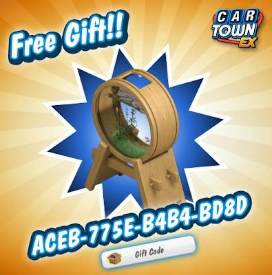 Car Town EX Free Gift Pecera