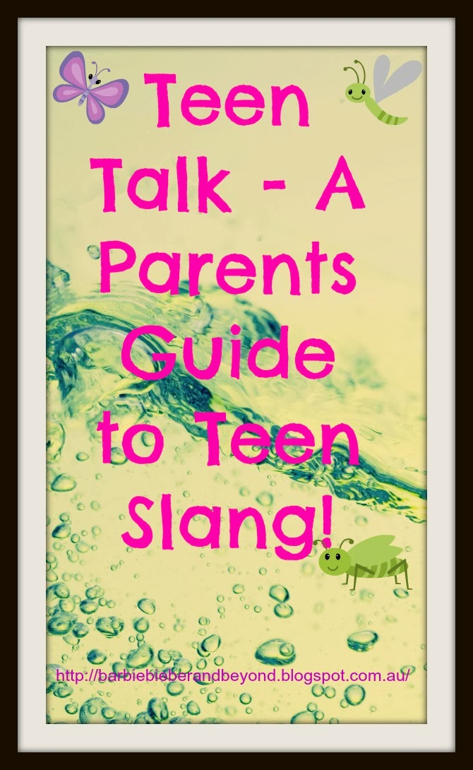 Teenage slang