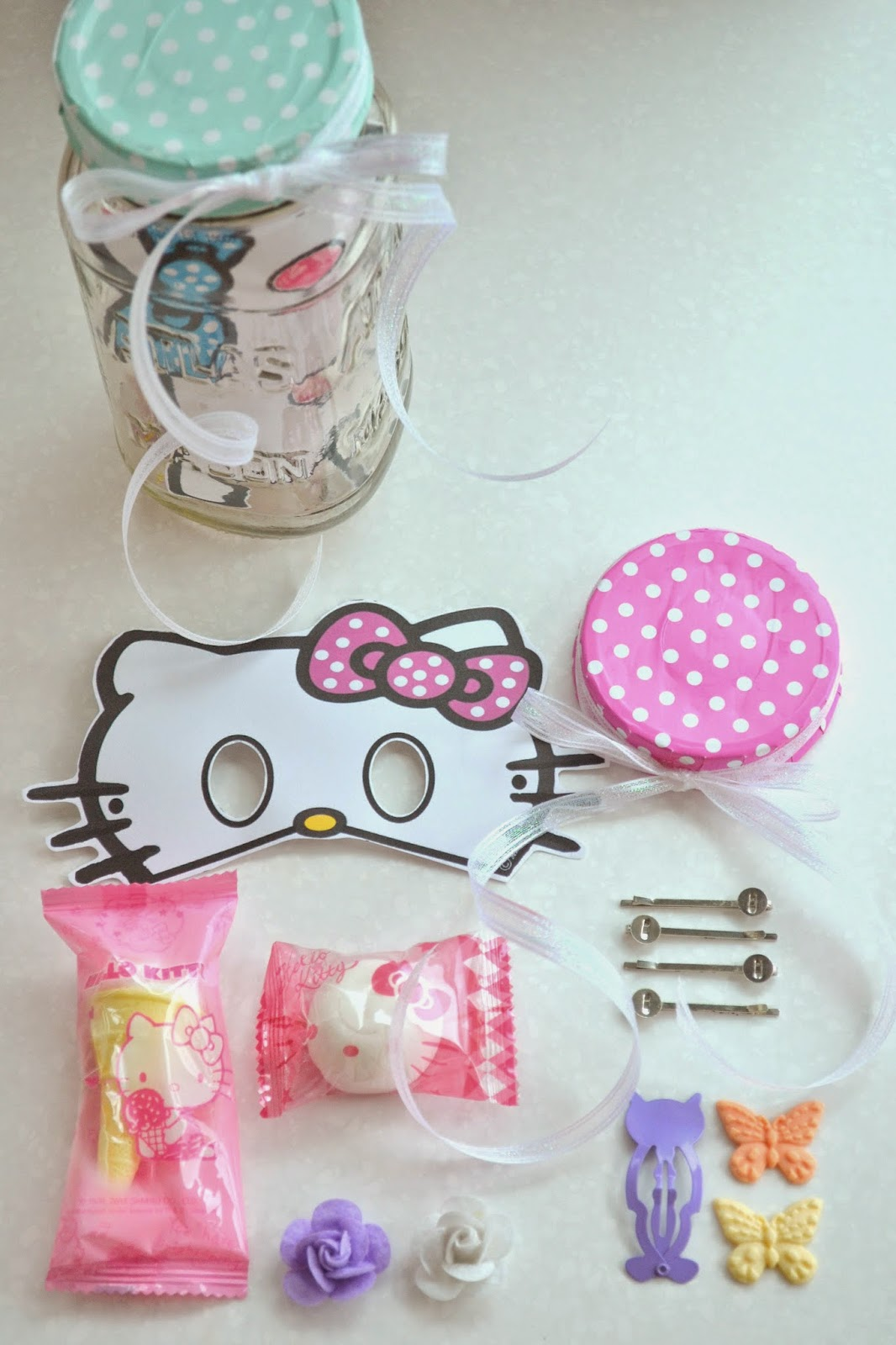 Julie ann events inside the hello kitty gift bags
