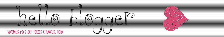 hello blogger ❥