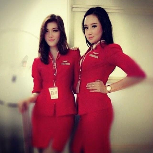 Sosok Pramugari Cantik Indonesia Saat Selfie