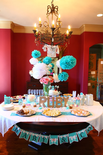 Goggans Party of Five + Lainey: Precious Jewel Baby Shower!