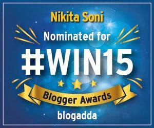 I am nominated for #Win15 Blogger Awards!