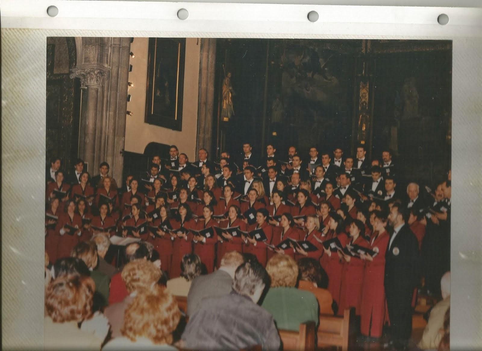 coro universitario de Burgos