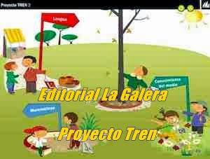 Proyecto Tren. Editorial La Galera.